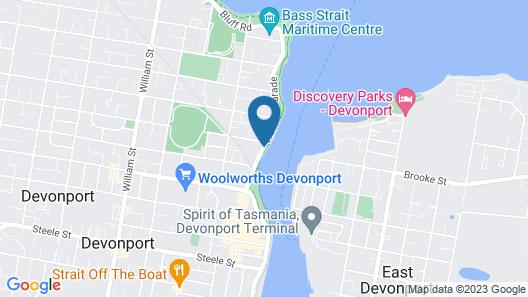 The Elimatta Hotel Map