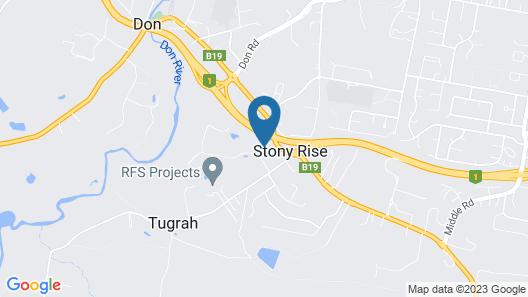 Stony Rise Cottage B&B Map