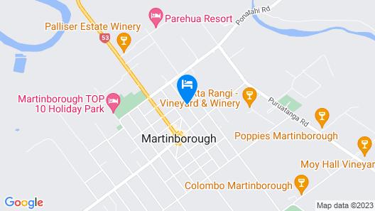 Martinborough Mews Map