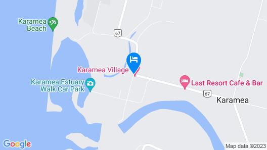 Karamea Village Hotel Map
