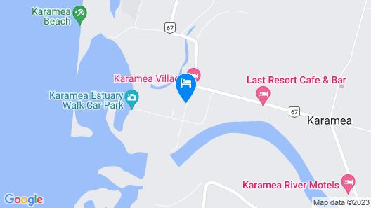 Karamea Farm Baches Map