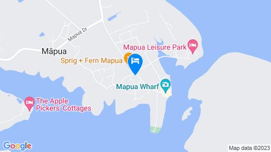 Mapua41South Holiday Accommodation Map