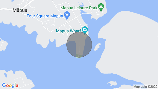 Mapua Studio High Quality Accommodation Map