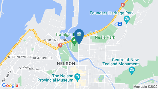 The Sails Nelson Map