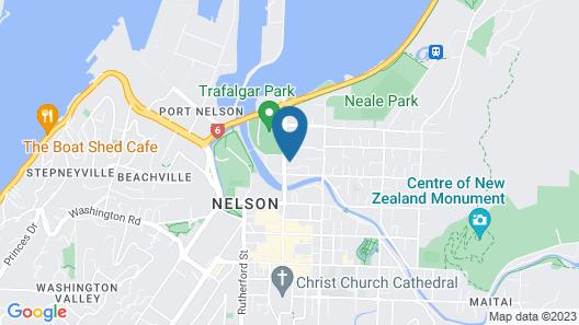 DeLorenzo's Studio Apartments Map