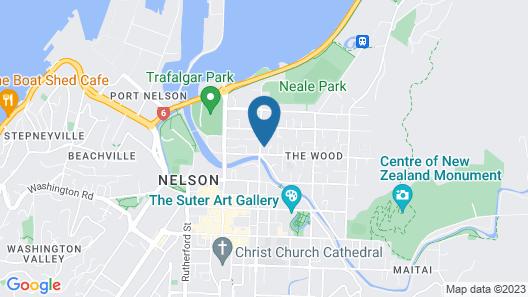Riverlodge Motel Map