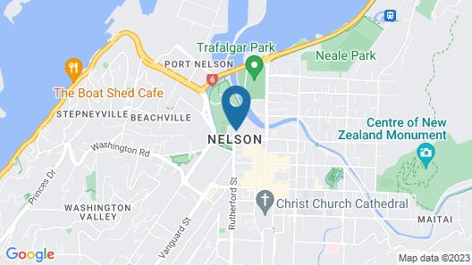Palms Motel Map