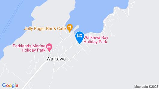 Waikawa Bay Holiday Park Map