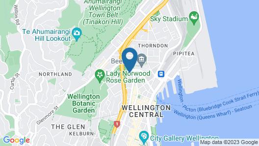 Bolton Hotel Map
