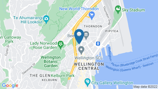 Sofitel Wellington Map