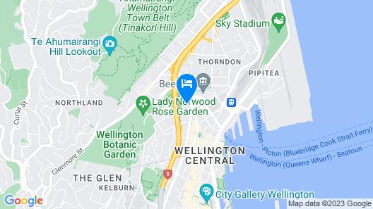 Sofitel Wellington Map