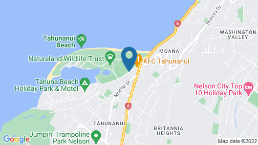 The Beachcomber Hotel Map