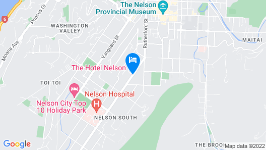 The Hotel Nelson Map