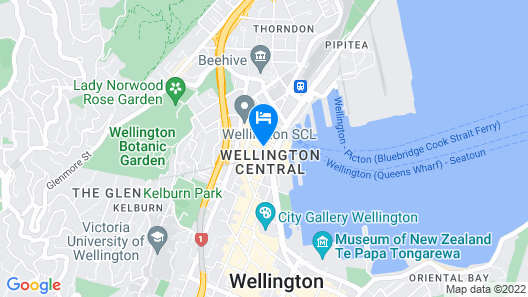 ibis Wellington Map