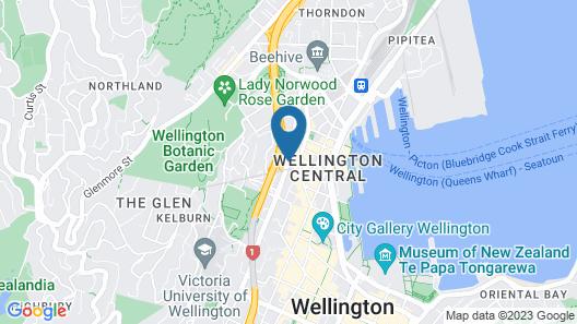 Novotel Wellington Map