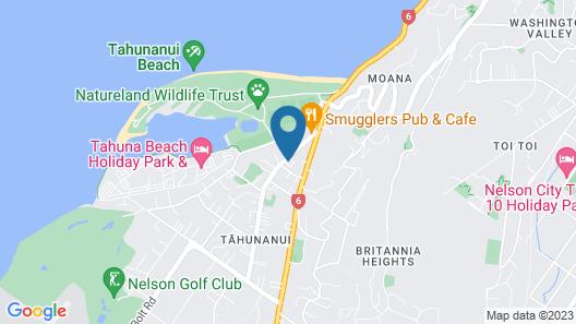 Kea Apartments Map