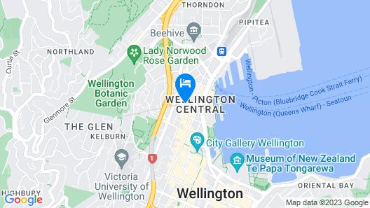 DoubleTree by Hilton Wellington Map
