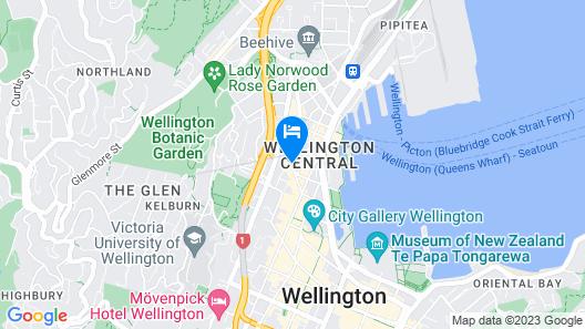 CityLife Wellington Map