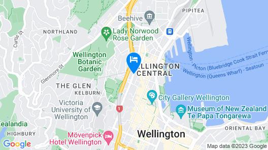 Quest Atrium Serviced Apartments Map