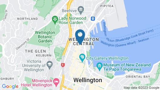 InterContinental Wellington, an IHG Hotel Map
