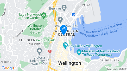 InterContinental Wellington, an IHG Hotel Map