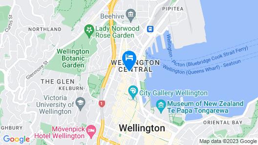 InterContinental Wellington Map