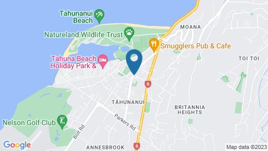 Balmoral Motel Map