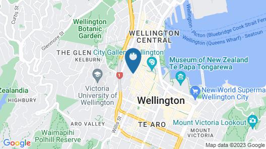 Boulcott Suites Map