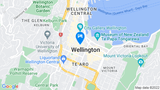 Aura Hotel Map