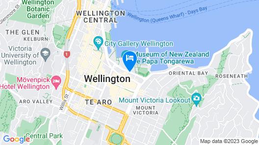 QT Wellington Apartments Map
