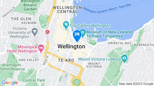 U Residence Hotel Map