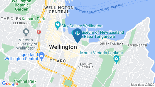 QT Wellington Map