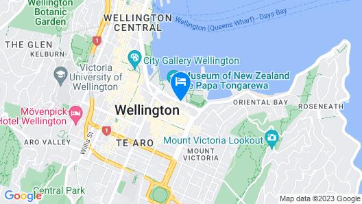 QT Wellington Map
