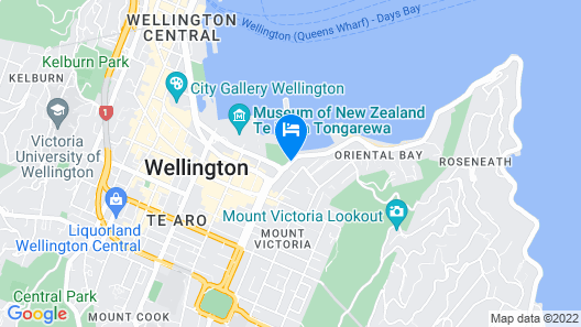 Ohtel Wellington Map