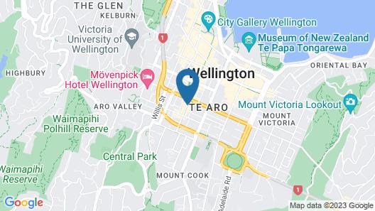 Naumi Studio Wellington Map
