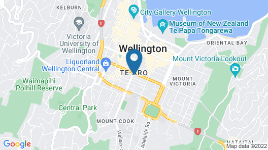 Ramada by Wyndham Wellington Taranaki Street Map