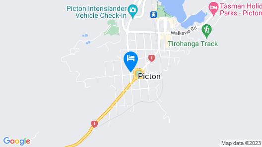 Picton Campervan Park Map