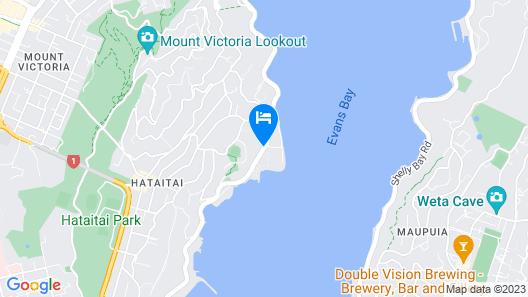 Bella Vista Motel Wellington Map