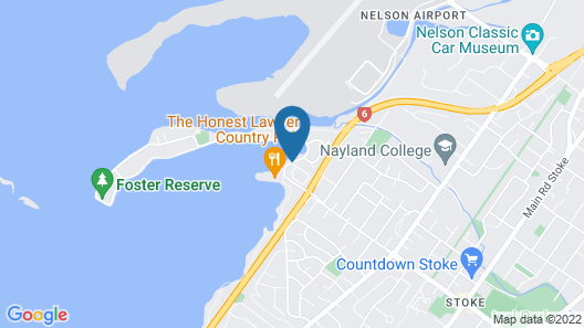 Grand Mercure Nelson Monaco Apartments Map