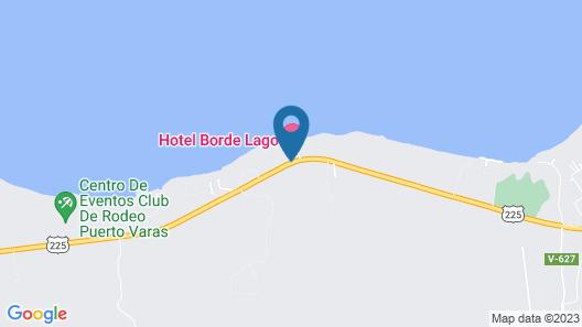 Borde Lago Hotel Map