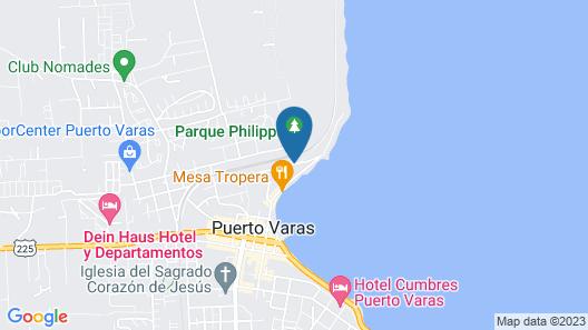 Hotel Cabaña del Lago Puerto Varas Map