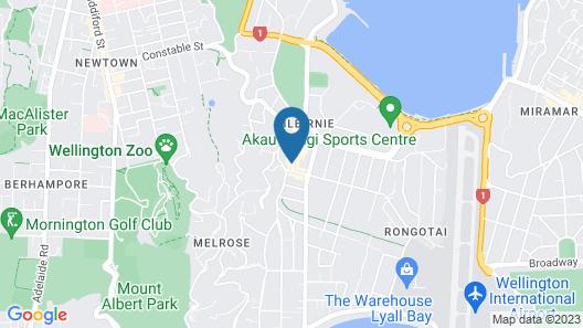 U Suites Kilbirnie Map