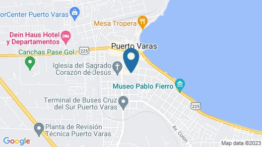 Solace Hotel Puerto Varas Map