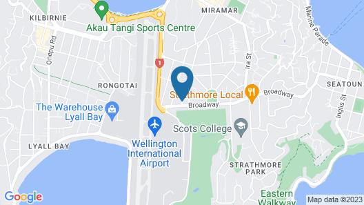 Airport Motor Lodge Map