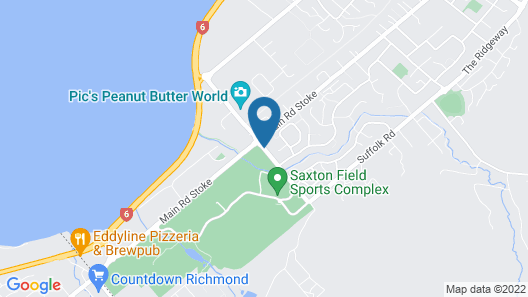 Saxton Lodge Map