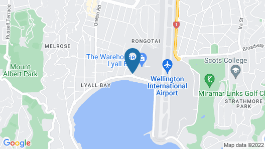 Airport Motel Map