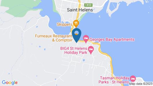 Queechy Motel Map