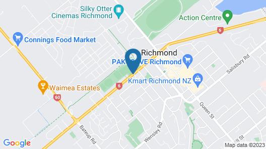 Richmond Motel & Holiday Park Map
