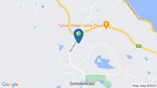 Tamar River Apartments Map