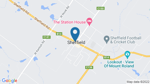 Sheffield Motor Inn Map